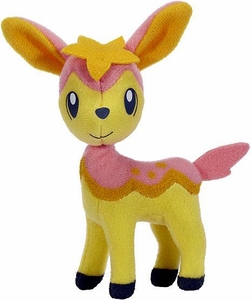 Pokemon Black & White Toy Plush Series 3 Throw Poke Ball Pink Deerling [Spring Form]