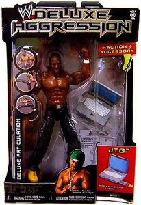 WWE Wrestling DELUXE Aggression Series 19 Action Figure JTG