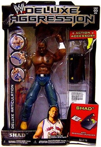 WWE Wrestling DELUXE Aggression Series 19 Action Figure Shad
