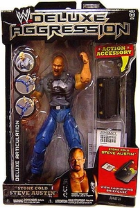 WWE Wrestling DELUXE Aggression Series 20 Action Figure Stone Cold Steve Austin