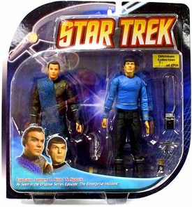 Diamond Select Toys Star Trek The Original Series Action Figure 2-Pack Romulan Kirk & Spock