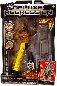 WWE Wrestling DELUXE Aggression Series 20 Action Figure Rey Mysterio