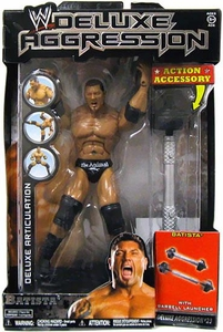 WWE Wrestling DELUXE Aggression Series 23 Action Figure Batista