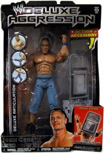 WWE Wrestling DELUXE Aggression Series 23 Action Figure John Cena