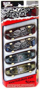 Tech Deck 96mm Skateboard 4-Pack ATM [Random Boards!]