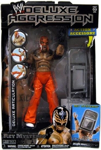 WWE Wrestling DELUXE Aggression Series 23 Action Figure Rey Mysterio