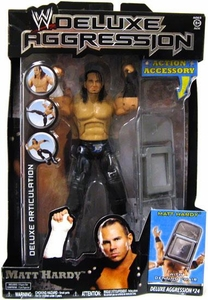 WWE Wrestling DELUXE Aggression Series 24 Action Figure Matt Hardy