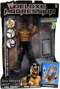 WWE Wrestling DELUXE Aggression Series 24 Action Figure Rey Mysterio BLOWOUT SALE!