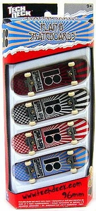 Tech Deck 96mm Skateboard 4-Pack Plan B [Sheckler, Gallant, etc...]