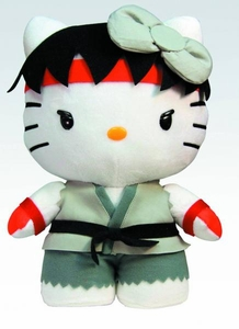 Sanrio X Street Fighter 10 Inch Plush Ryu Pre-Order ships August