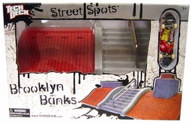 Tech Deck Street Spots Brooklyn Banks Hot!
