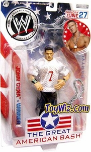 WWE Jakks Pacific Wrestling Great American Bash Pay Per View Action Figure John Cena