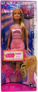 Barbie Fashion Fever Doll Barbie In Fancy Pink Dress
