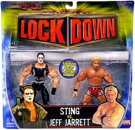 TNA Wrestling Series 3 Action Figure 2-Pack Sting vs. Jeff Jarrett