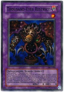 YuGiOh Duelist League Single Promo Card Super Rare DL1-001 Thousand-Eyes Restrict