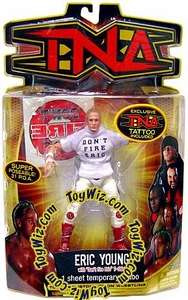 TNA Wrestling Series 8 Action Figure Eric Young [Don't Fire Eric Shirt]