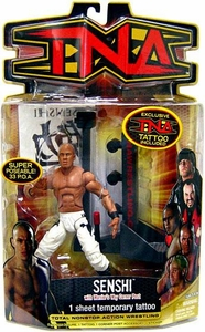 TNA Wrestling Series 8 Action Figure Senshi [White Pants Variant]