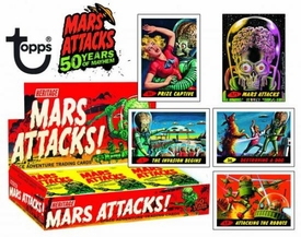 Topps Heritage Mars Attacks Trading Card Box [24 Packs]