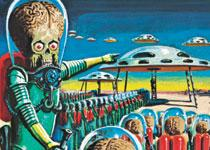 Topps Heritage Mars Attacks Trading Card Basic Set