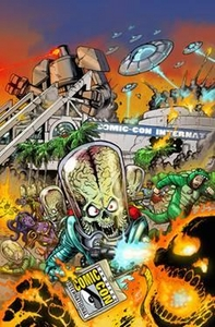 Mars Attacks 2012 SDCC San Diego Comic Con Exclusive Comic Book Mars Attacks #1