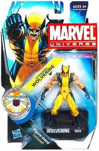 Marvel Universe 3 3/4 Inch Series 16 Action Figure #25 Astonishing Wolverine
