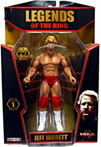 TNA Wrestling Legends of the Ring Series 1 Action Figure Jeff Jarrett [NWA] BLOWOUT SALE!