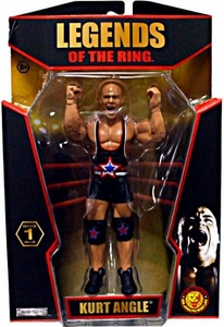 TNA Wrestling Legends of the Ring Series 1 Action Figure Kurt Angle
