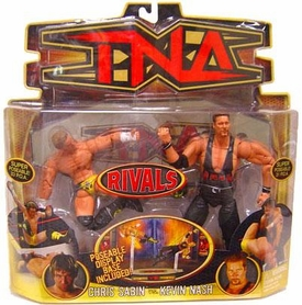 TNA Wrestling Rivals Action Figure 2-Pack Chris Sabin vs. Kevin Nash