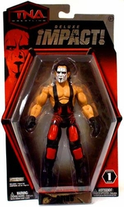 TNA Wrestling Deluxe Impact Series 1 Action Figure Sting