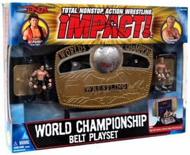 TNA Wrestling World Championship Belt Playset