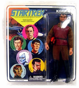 Diamond Select Toys Star Trek The Original Series Cloth Retro Series 1 Klingon