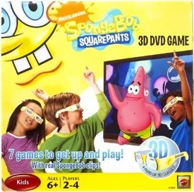Spongebob Squarepants 3D DVD Game