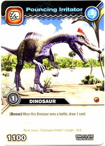 Dinosaur King TCG Alpha Dinosaurs Attack Single Card Common DKAA-014 Pouncing Irritator