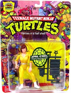 Teenage Mutant Ninja Turtles 25th Anniversary Action Figure April O'Neil