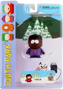 Mezco Toyz South Park Series 2 Action Figure Token BLOWOUT SALE!