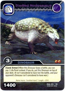 Dinosaur King TCG Alpha Dinosaurs Attack Single Card Silver DKAA-026 Startled Nodosaurus