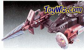 Tomy Zoids Customized Parts CP-14 Viking Lance Unit