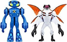 Ben 10 Alien Creation Chamber Mini Figure 2-Pack Ultimate Echo Echo & Highbreed