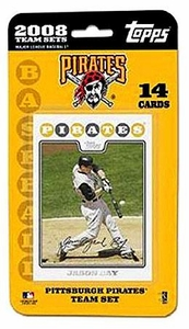 Topps MLB Baseball Cards 2008 Pittsburgh Pirates 14 Card Team Set