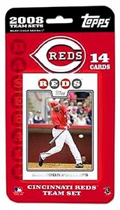 Topps MLB Baseball Cards 2008 Cincinatti Reds 14 Card Team Set
