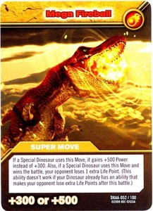 Dinosaur King TCG Alpha Dinosaurs Attack Single Card Common DKAA-052 Mega Fireball