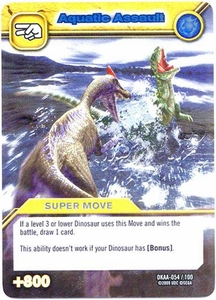 Dinosaur King TCG Alpha Dinosaurs Attack Single Card Silver DKAA-054 Aquatic Assault