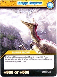 Dinosaur King TCG Alpha Dinosaurs Attack Single Card Common DKAA-055 Mega Geyser