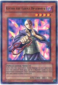 YuGiOh Hobby League Promo Card Single Parallel Rare HL04-EN005 Kycoo the Ghost Destroyer BLOWOUT SALE!