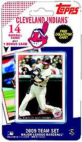 Topps MLB Baseball Cards 2009 Cleveland Indians 14 Card Team Set [Includes Kerry Woods Card]