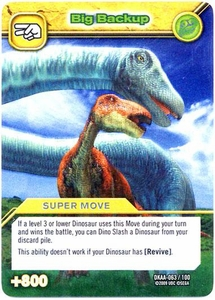Dinosaur King TCG Alpha Dinosaurs Attack Single Card Silver DKAA-063 Big Backup