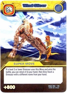 Dinosaur King TCG Alpha Dinosaurs Attack Single Card Silver DKAA-066 Wind Slicer