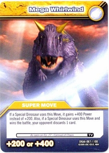 Dinosaur King TCG Alpha Dinosaurs Attack Single Card Common DKAA-067 Mega Whirlwind
