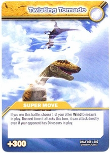 Dinosaur King TCG Alpha Dinosaurs Attack Single Card Common DKAA-068 Twisting Tornado
