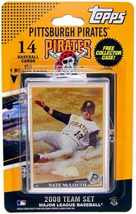 Topps MLB Baseball Cards 2009 Pittsburgh Pirates 14 Card Team Set [Includes PNC BallPark Card] BLOWOUT SALE!